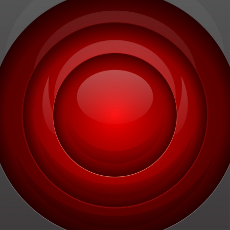 red metal: Red metal round shapes abstract background. RGB EPS 10 vector
