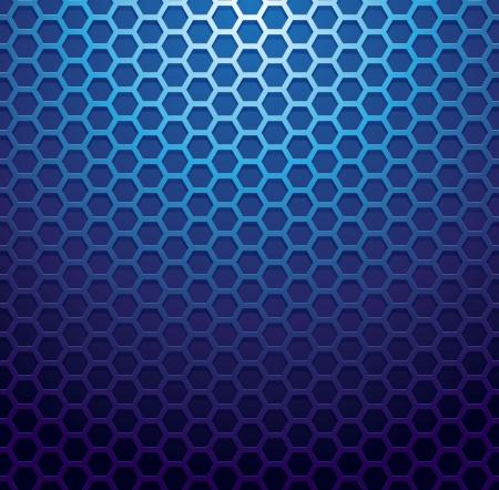 blue metallic background: Blue metallic grid background. RGB EPS 10 vector illustration