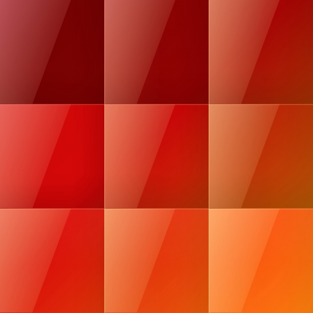 Red squares abstract background. RGB EPS 10 vector illustration Vector