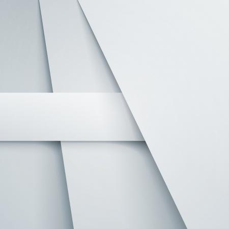 Abstract vector achtergrond met witte papieren lagen. RGB EPS-10 vector
