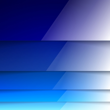 Abstract blue rectangle shapes. RGB EPS 10 vector Vector