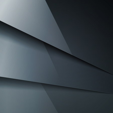gloss banner: Abstract background with dark gray metal layers.