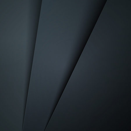 grayscale: Dark grey paper layers abstract background.