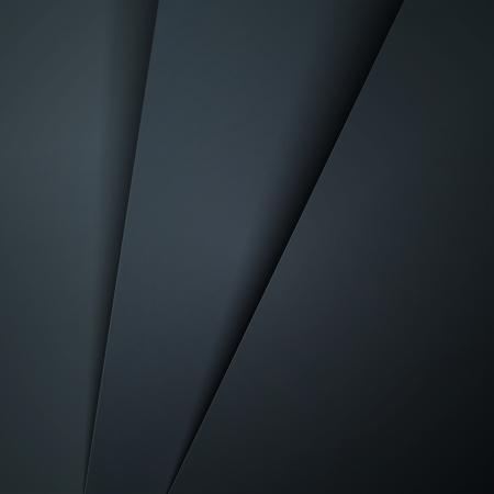Donker grijs papier lagen abstracte achtergrond.