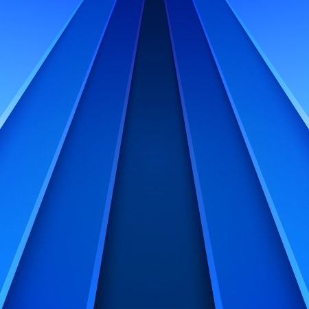 Blue paper layers abstract background. RGB EPS 10 vector illustration Banco de Imagens - 24900678