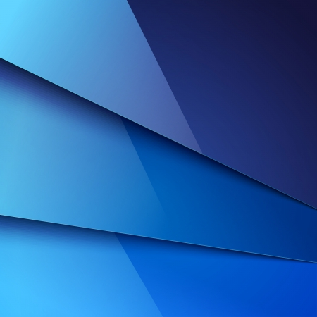 Abstract background with blue metal layers. Vector