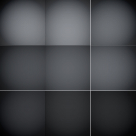 Gray and black squares abstract background.  Ilustração