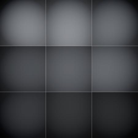 Grijze en zwarte vierkantjes abstracte achtergrond.