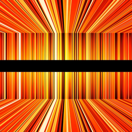 Abstract yellow and orange stripes