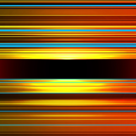 Striped blue, brown and orange