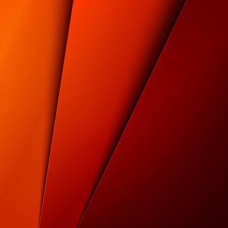 Red, orange and yellow paper layers abstract Banco de Imagens - 24967404