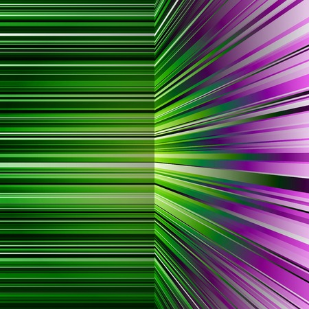 warp: Abstract green and purple stripes colorful
