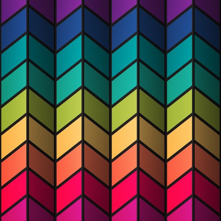 ine: Rainbow colorful stained-glass rectangles abstract background. RGB EPS 10 vector illustration