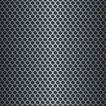 hi tech background: Silver metallic grid background. RGB EPS 10 vector illustration Illustration