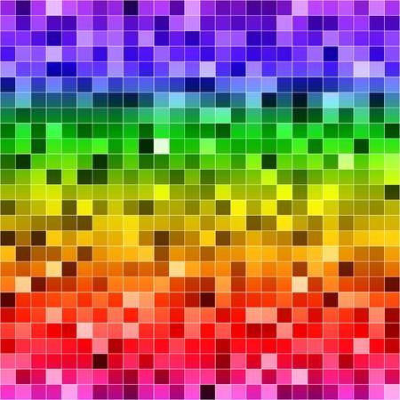 Abstracte digitale kleurrijke pixels naadloze patroon achtergrond. RGB EPS 10 vector illustratie