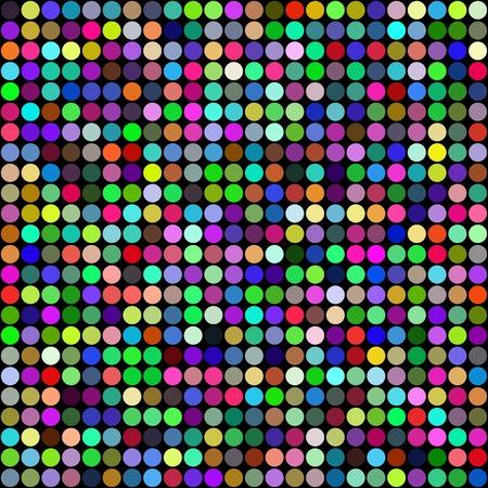 Abstract rainbow circles seamless pattern background. RGB EPS 10 vector illustration Banco de Imagens - 34113915
