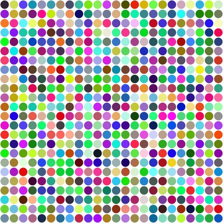Abstract rainbow circles seamless pattern background. RGB EPS 10 vector illustration Vector