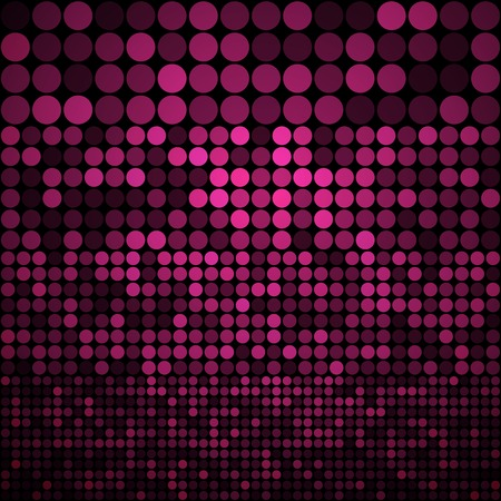 Abstract purple circles seamless pattern background. RGB EPS 10 vector illustration Vector