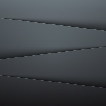 Dark grey paper layers abstract background.