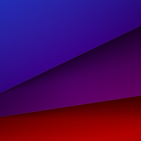 Abstract Background With Red Blue And Purple Paper Layers Royalty