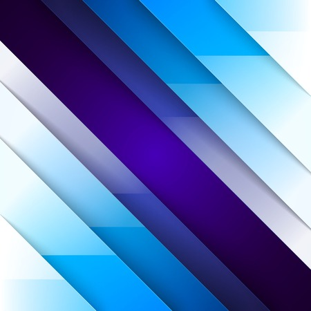 metal: Abstract blue triangle shapes background.  Illustration