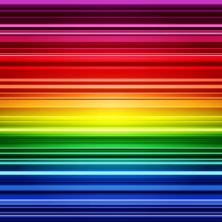 Abstract rainbow stripes colorful background.   Illustration