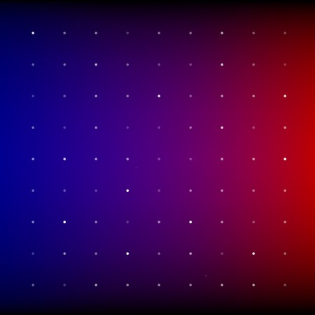 Red, blue and purple shining disco equalizer lights. RGB  vector background Vector