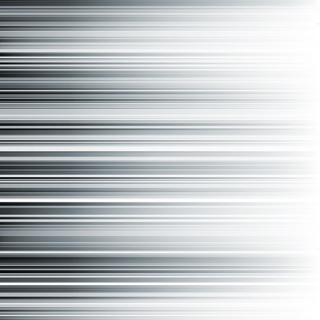 Abstract horizontal monochrome stripes gradient background. RGB EPS 10 vector illustration