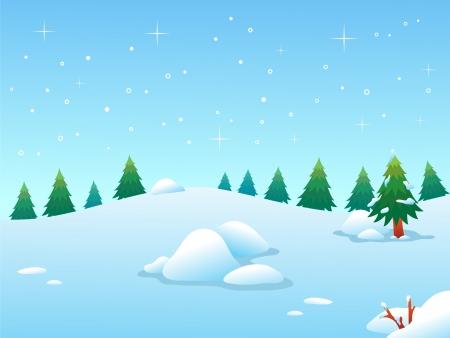bg: Winter BG Illustration