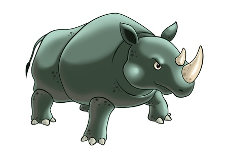 rhinoceros Stock Photo - 10416689