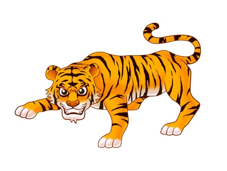 the pampas: tiger