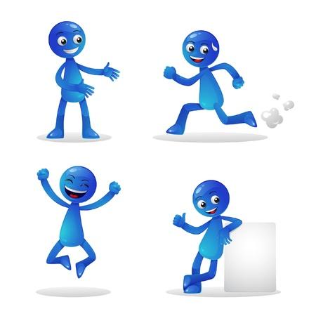 1 person: Blue Person Activity 1
