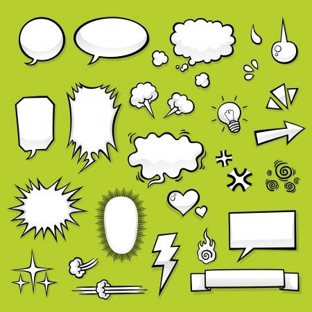 lightning arrow: Comic Elements