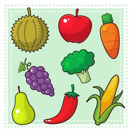 Durian: Trái cây và rau quả