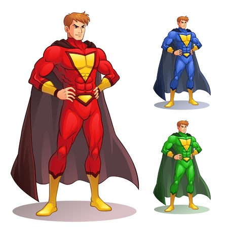 Great Superhero Vector