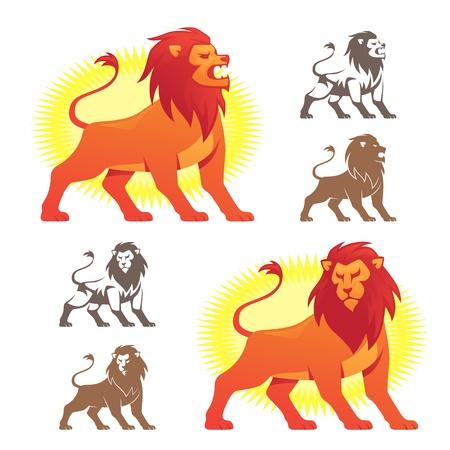lion roar: Lion Symbols