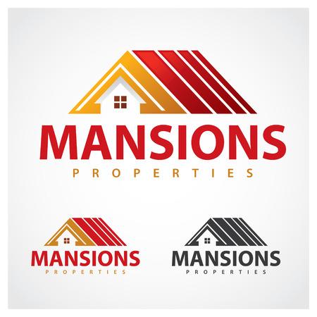 contractor: Properties Symbol Mansion properties  design template