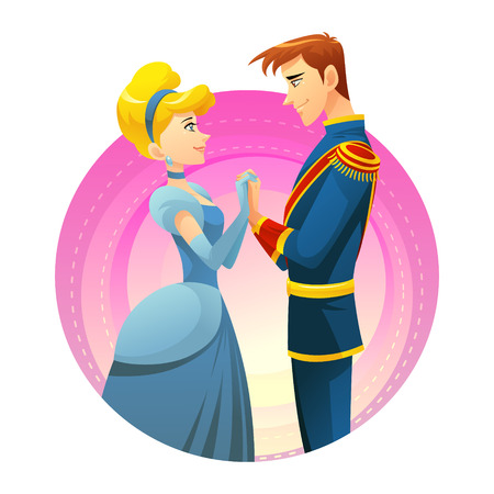 Ideal Soulmate Prince and princess love story  Illustration
