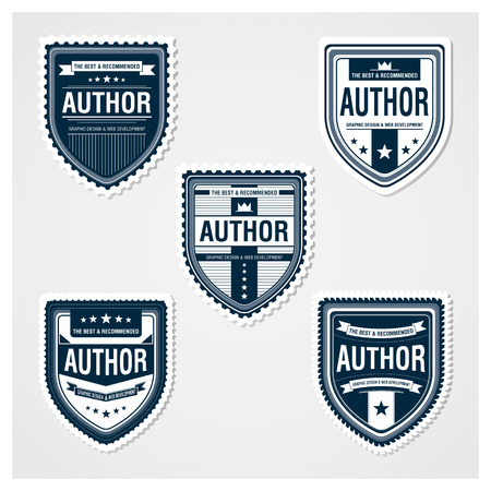 Badges Template Stock Vector - 23288347