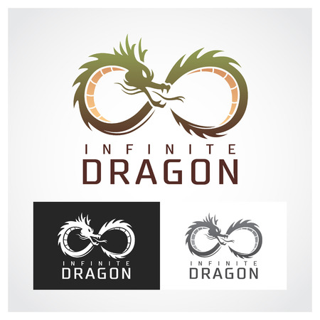 Dragon Symbol. Suitable for professional design use.