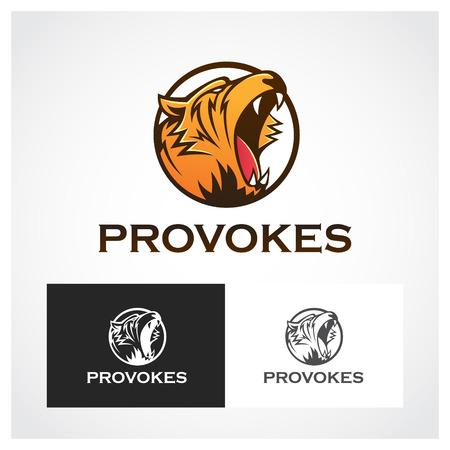provoke: Provoke Symbol. Suitable for professional design use. Illustration