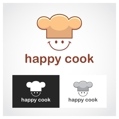 happy business team: Cook Symbol. Suitable for professional design use.