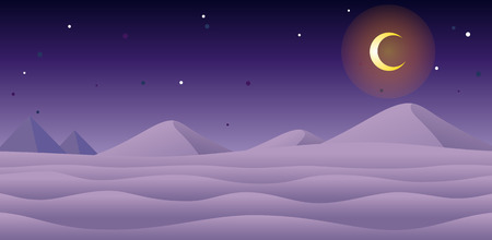 Snow Night Game Background. Suitable for side scrolling, action, and adventure game.