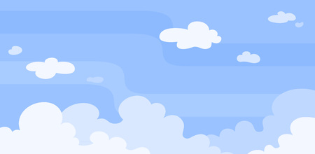 scrolling: Sky Game Background. Suitable for side scrolling, shooting, action, and adventure game.