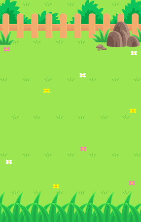 tapping: Nature Game Background. Suitable for tapping, action, and shooting game. Illustration
