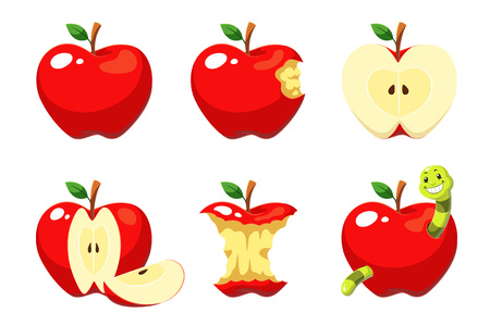 Apple cartoon pack