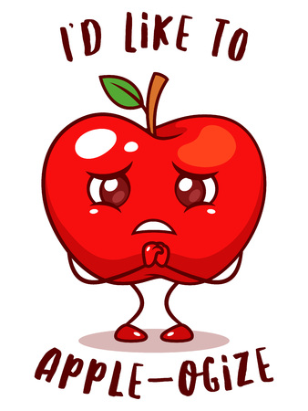 Red Apple Pun