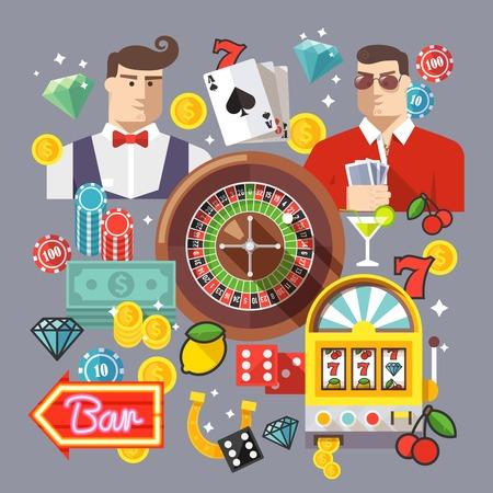 fichas de casino: Casino creativa y composici�n de poker