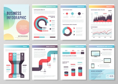 presentation template: The concept of infographics for your business, web sites, presentations, etc.