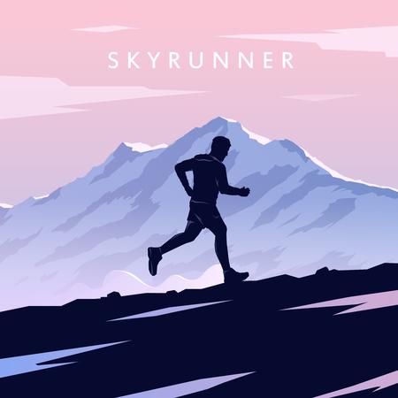 Mountain Running. Фото со стока - 55671775